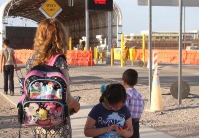 kids living in the border